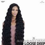 MAYDE BEAUTY Synthetic Bloom Bundle Weave #Loose Deep 36 inches
