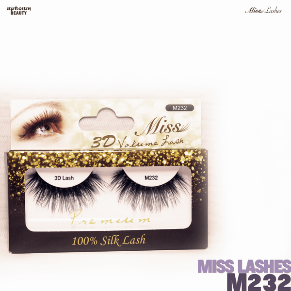 Miss Lashes 3D Volume False Eyelash - M232