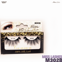 Miss Lashes 3D Volume False Eyelash - M302B