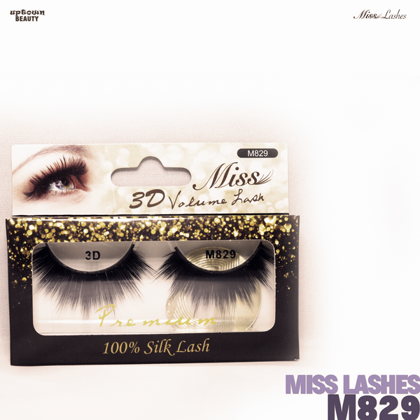 Miss Lashes 3D Volume False Eyelash - M829