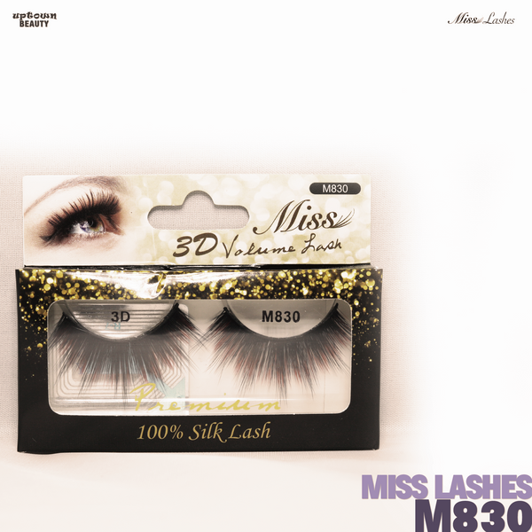 Miss Lashes 3D Volume False Eyelash - M830