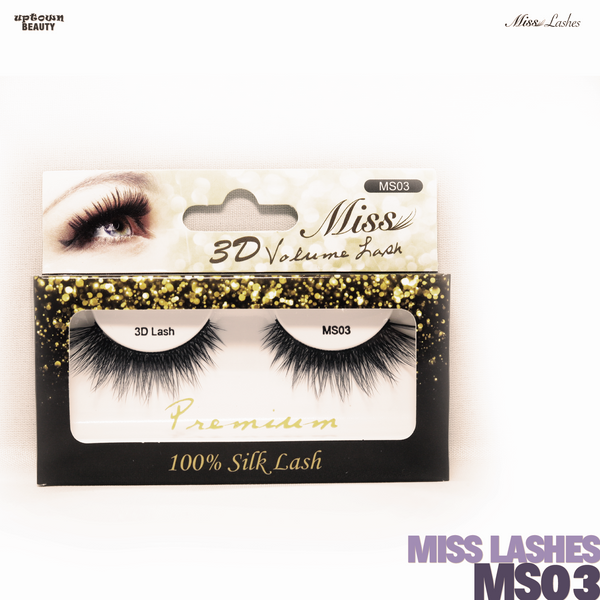 Miss Lashes 3D Volume False Eyelash - MS03