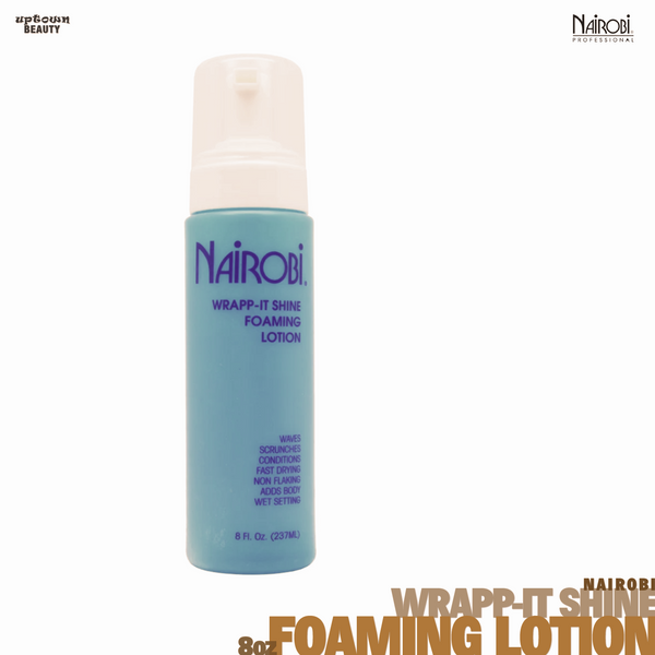 Nairobi Wrapp-It Shine 8-ounce Foaming Lotion