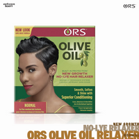 ORS Olive Oil Build-In Protection New Growth No-Lye Hair Relaxer - Normal