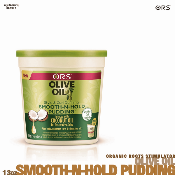 Organic Root Stimulator Oilive Oil Smooth n hold pudding 13oz