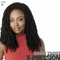 Outre Crochet Braids X-Pression Twisted Up Original Bomb Twist 18 inches