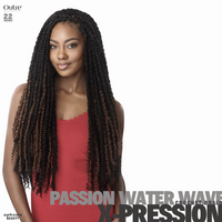 Outre Crochet Braids X-Pression Twisted Up Passion Water Wave 24 inches