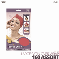 QFITT - Lagre Satin Over Wrap #160 Assort