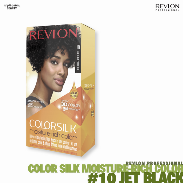 REVLON Color-silk Moisture-Rich Color Permanent Color #10 Jet Black
