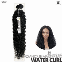 ZURY HOLLYWOOD Synthetic Natural Dream Feel & Look Bundle Weave #Deep Wave 30 inches