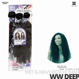 SHAKE-N-GO Wet & Wavy IBIZA  Bundle Weave 3PCS #WW Deep 18-20-22 inches