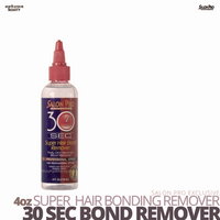 Salon Pro Exclusive Hair Bonding Glue 30-SEC Super Bond Glue Remover #4 oz