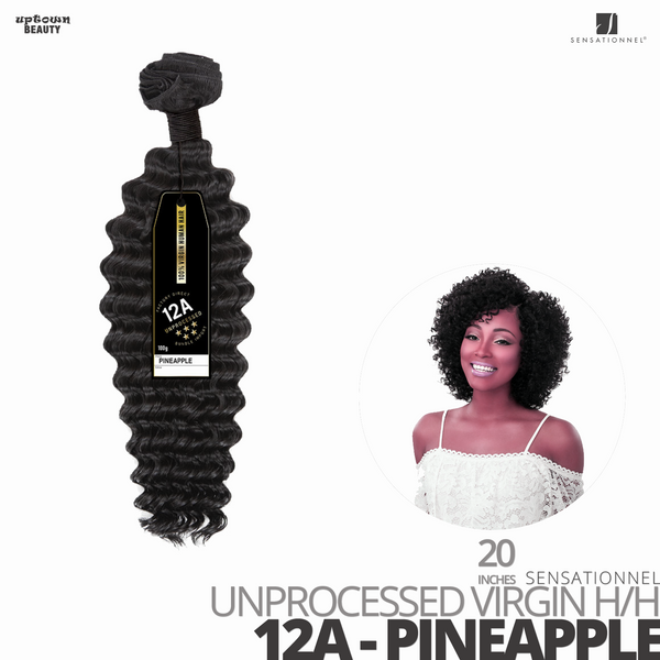 Sensationnel Bare&Natural Unprocessed Virgin Human Hair #12A -Pineapple- #20 inches