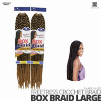 Shake n Go Synthetic Freetress Crochet Braid Box Braid Large