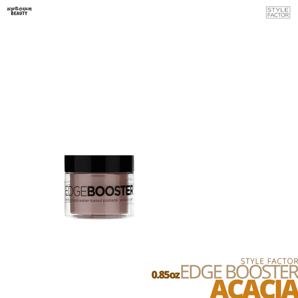 Style Factor Edge Booster Strong Hold Water-Based Pomade # 0.85oz # Acacia