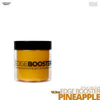 Style Factor Edge Booster Strong Hold Water-Based Pomade # 16.9oz # Pineapple