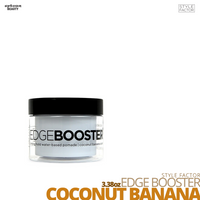 Style Factor Edge Booster Strong Hold Water-Based Pomade # 3.38oz # Coconut Banana
