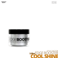 Style Factor Edge Booster Strong Hold Water-Based Pomade # 3.38oz # Cool Shine