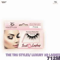 TRS THE TRUE STYLES- Luxury 3D Lashes - 712M