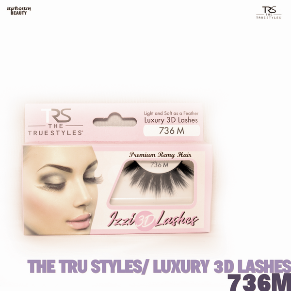 TRS THE TRUE STYLES- Luxury 3D Lashes - 736M