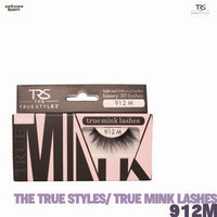 TRS THE TRUE STYLES- Luxury 3D Lashes Mink LAshes - 912M