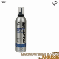 Vigorol Olive Oil Maximum Shine & Wave Hair Mousse 12 Oz