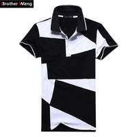 Unique Outfit for MenMens Casual POLO-Style Collared T-shirt