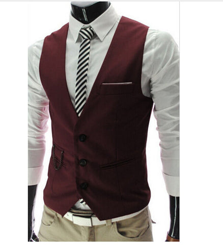 2017 Men's Formal Vest - Unique Outfit for Men