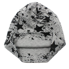 Starred Skully Beanie Hat - Unique Outfit for Men