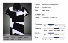 Mens Casual POLO-Style Collared T-shirt - Unique Outfit for Men