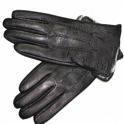Unique Outfit for MenLeather Deerskin  Gloves