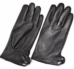 Leather Deerskin  Gloves - Unique Outfit for Men