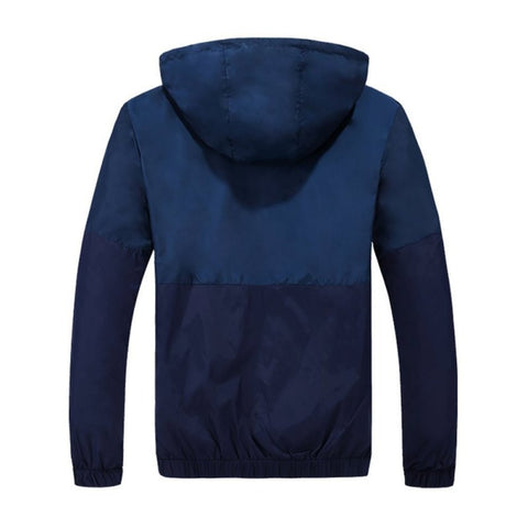 Unique Outfit for Men2-Color Slim Nylon Jacket - Stylish & Functional!