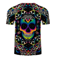 Unique Outfit for Men3D Skull T shirt