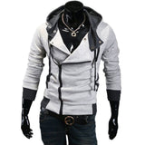 Unique Outfit for MenMen's Cardigan Hoodies Long Sleeve Slim Jacket