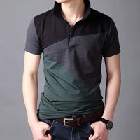 Unique Outfit for Men2019 Brand Casual Polo Shirts Short Sleeve Men's Cotton