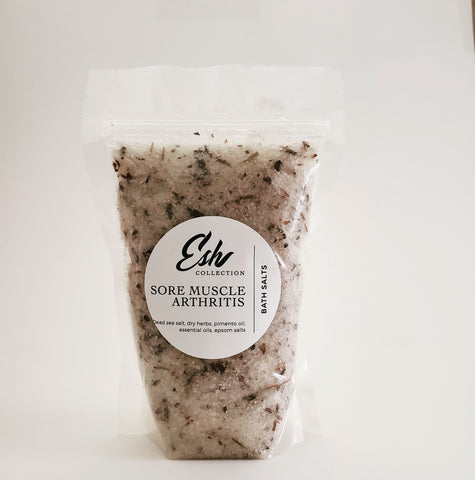 Sore Muscle Relief Bath Salts
