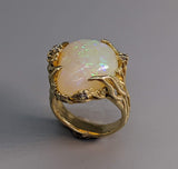 Brazilian Opal, 14kt Gold Ring