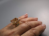 Morganite, 14kt Gold Ring