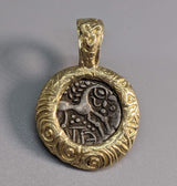 Ancient Celtic Pony AR Unit, 14kt Gold Pendant