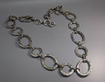 Sterling Silver Heavy Link Chain Necklace