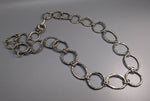 Sterling Silver Large Link Chain Necklace