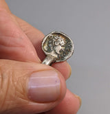 Sterling Silver Ancient Coin Replica, Gorgon
