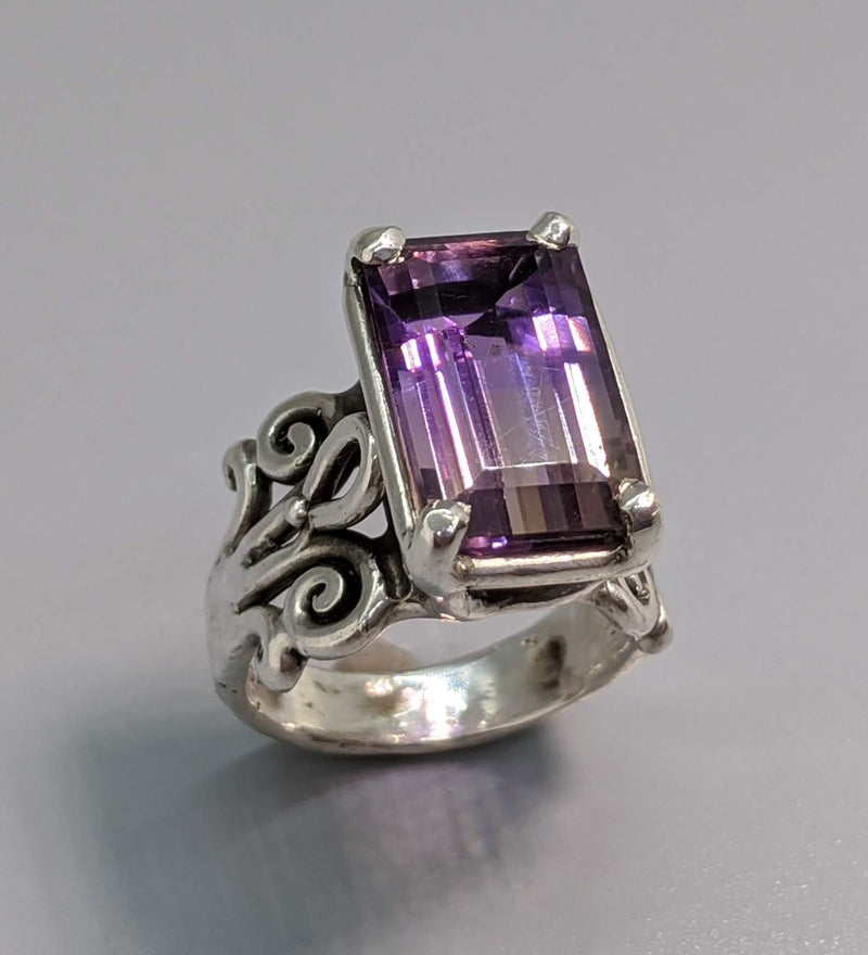 Ametrine Sterling Silver Ring