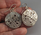 Sterling Silver Hounds of Cuchulainn Celtic Earrings