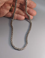 "18"" 3 mm Sterling Silver Balinese Chain"