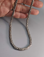 "22"" 5 mm Sterling Silver Balinese Chain"