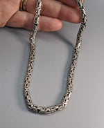"19"" 5 mm Sterling Silver Balinese Chain"