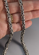 "20"" 6 mm Sterling Silver Balinese Chain"