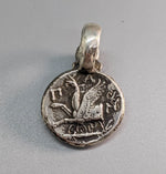 Sterling Silver Ancient Coin Replica, Pan